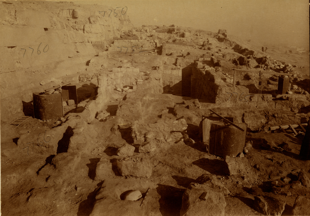 Eastern Cemetery: Site: Giza; View: street G 7700, G 7760, G 7766, G 7752