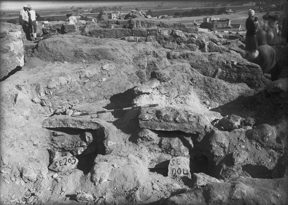 Eastern Cemetery: Site: Giza; View: G 7000 SE 203, G 7000 SE 204