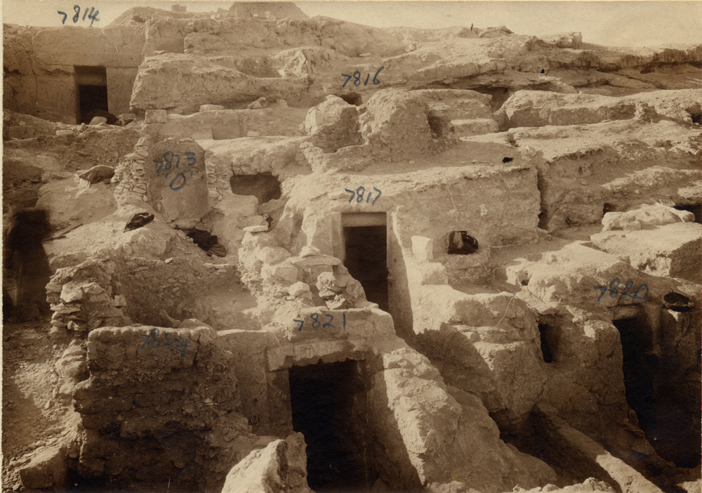 Eastern Cemetery: Site: Giza; View: G 7824, G 7821, G 7820, G 7817, G 7813, G 7816, G 7814
