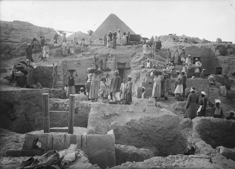 Eastern Cemetery: Site: Giza; View: G 7832, G 7829, G 7831, G 7830, G 7837+7843, G 7835, G 7815, G 7814