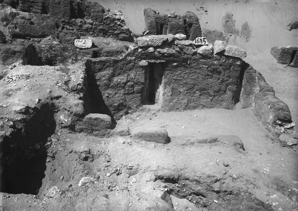 Western Cemetery: Site: Giza; View: G 1635, G 1663, G 1651