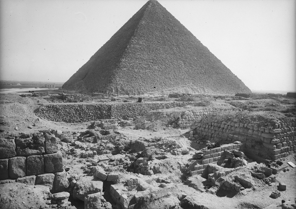 Western Cemetery: Site: Giza; View: G 2220, G 2150, G 2133, G 2130, G 2131, G 2132, G 2134, G 2134a, G 2170