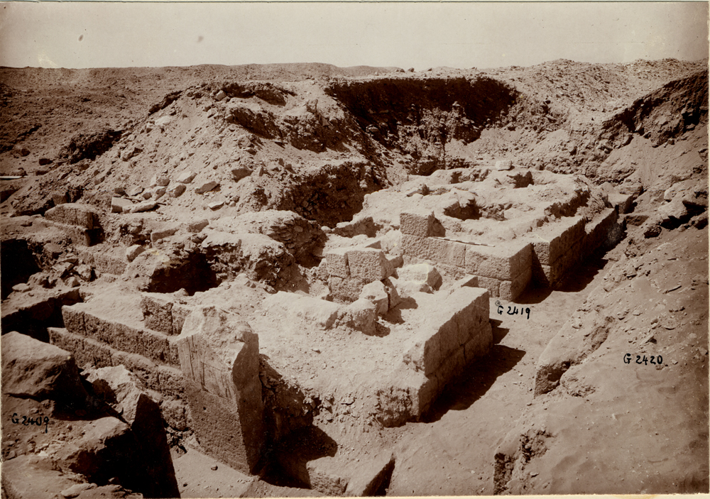Western Cemetery: Site: Giza; View: G 2419