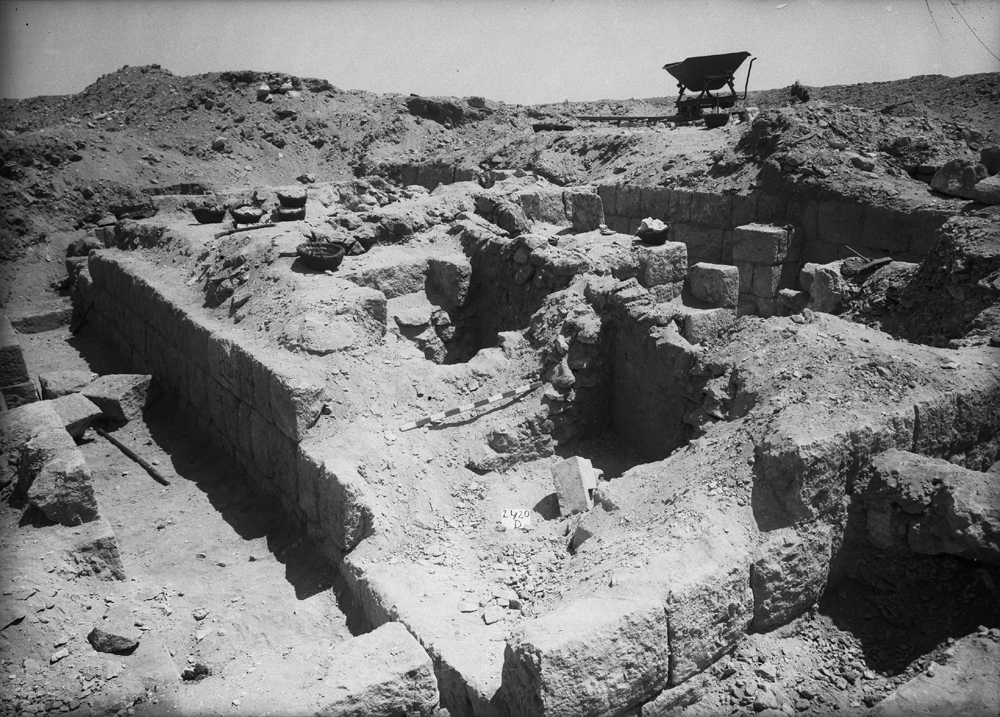 Western Cemetery: Site: Giza; View: G 2420