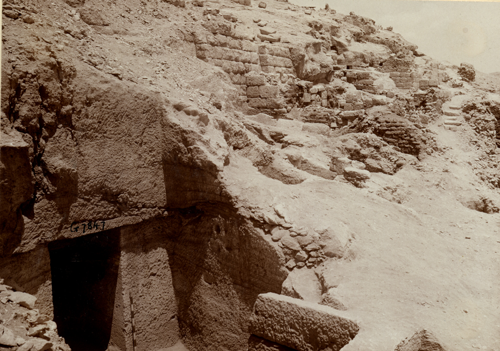 Eastern Cemetery: Site: Giza; View: G 7847