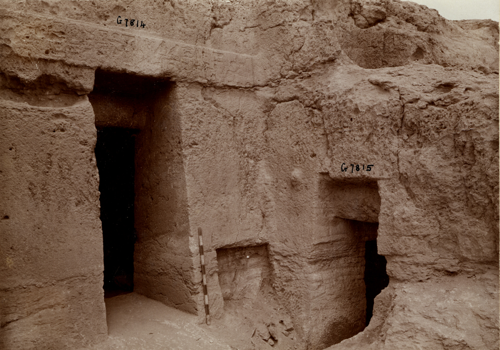 Eastern Cemetery: Site: Giza; View: G 7814, G 7815