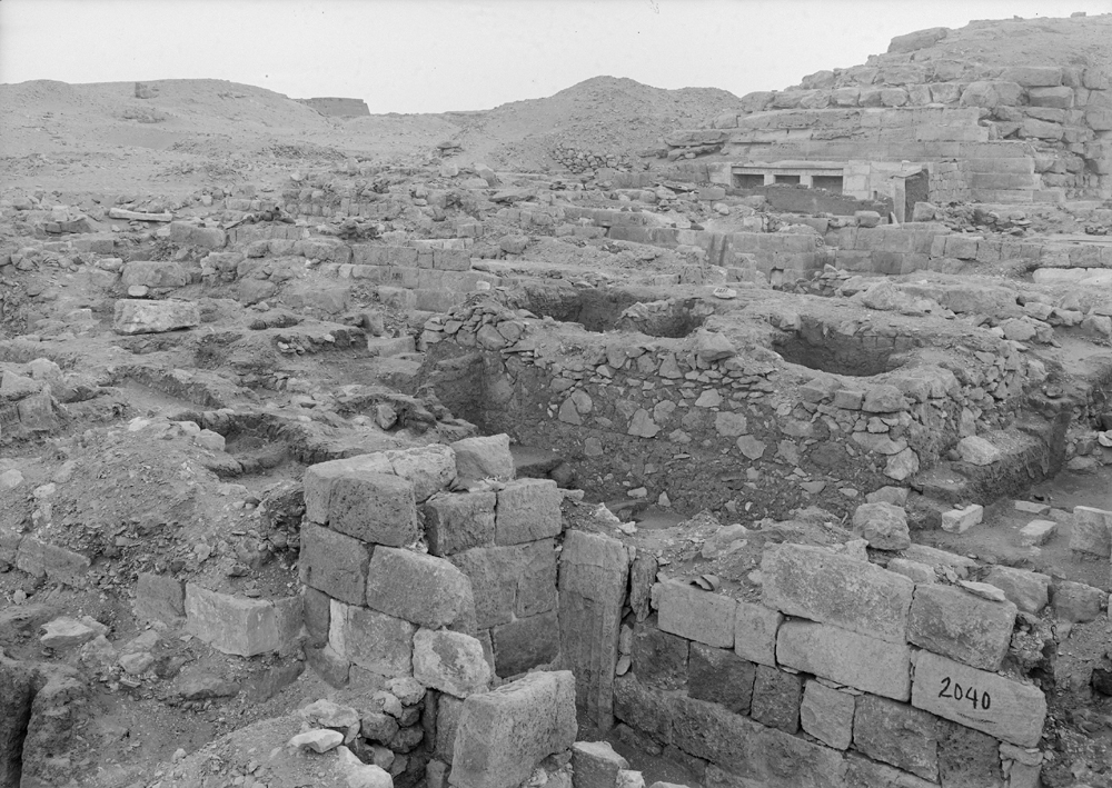Western Cemetery: Site: Giza; View: G 2040