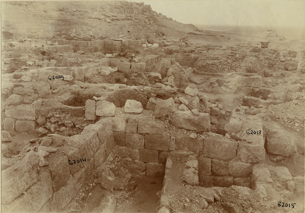 Western Cemetery: Site: Giza; View: G 2013, G 2014, G 2009