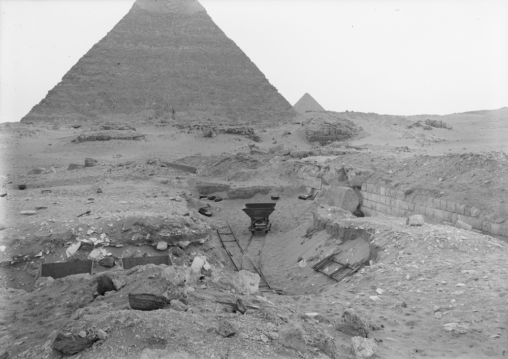 Western Cemetery: Site: Giza; View: G 2100-I