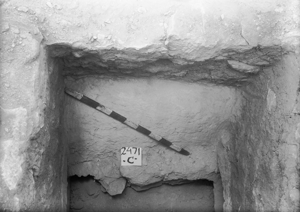 Western Cemetery: Site: Giza; View: G 2471