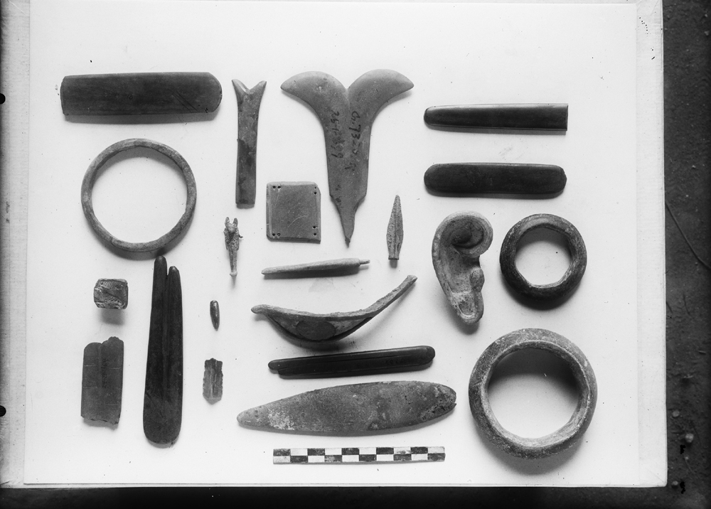 Object(s) photograph: Site: Giza; view: G 7310-7320, G 4710, G 7757, G 7652, G 1649, G 7661, street G 7600, G 7240