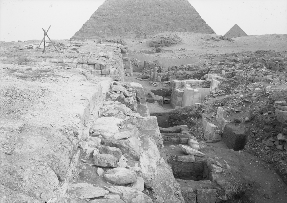 Western Cemetery: Site: Giza; View: G 2110, G 2100, G 2041