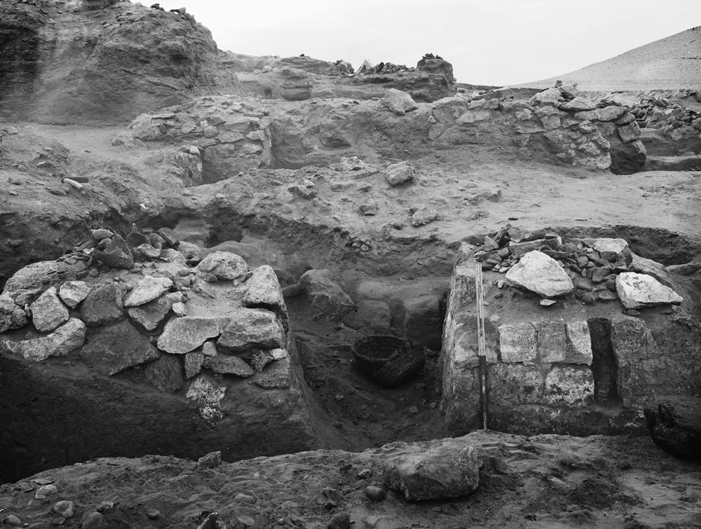 Wadi Cemetery (Reisner; north of W. Cem): Site: Giza; View: GW 6, GW 7, GW 12, GW 16