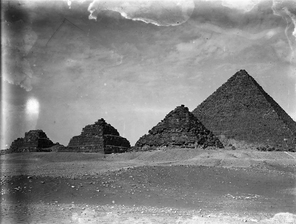 Menkaure Pyramid Complex: Site: Giza; View: G III-a, G III-b, G III-c