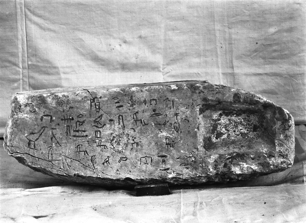 Object(s) photograph: Site: Giza; view: G 1107