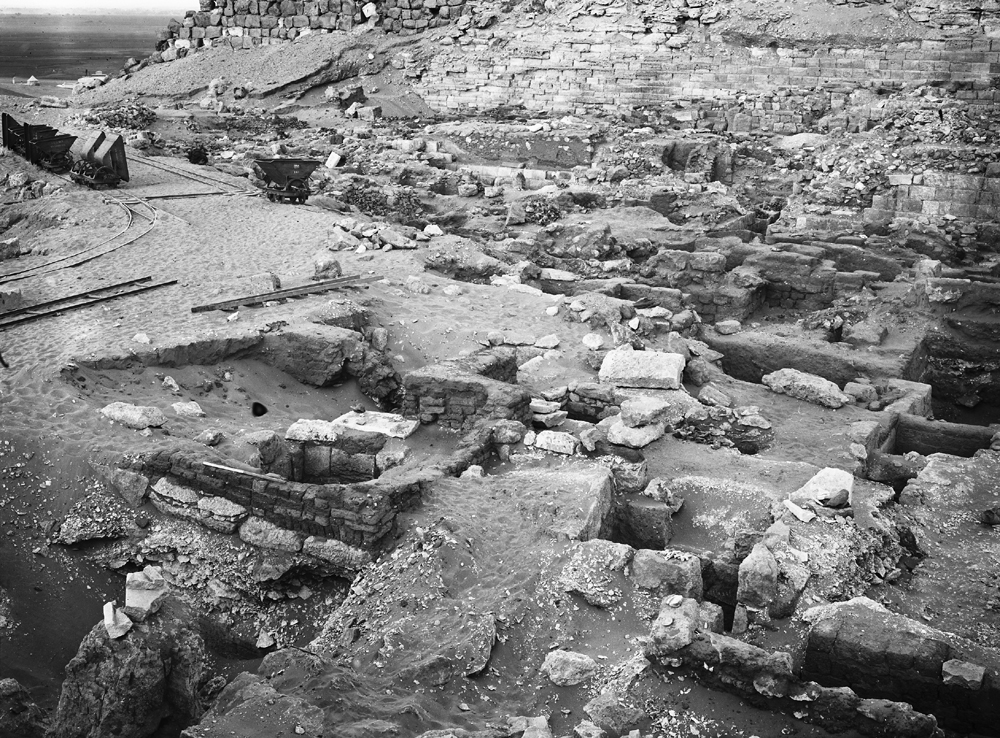 Western Cemetery: Site: Giza; View: G 1159, G 1160, G 1158, G 1157