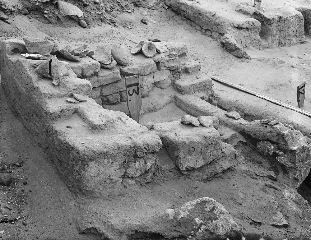 Wadi Cemetery (Reisner; north of W. Cem): Site: Giza; View: GW 12, GW 13, GW 14