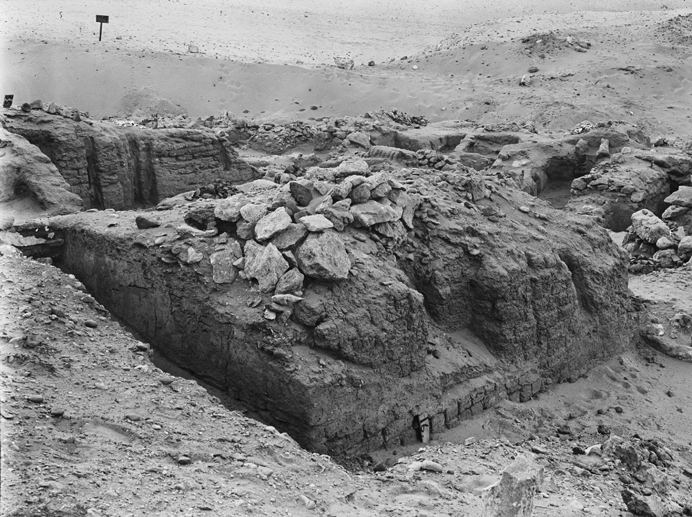 Wadi Cemetery (Reisner; north of W. Cem): Site: Giza; View: GW 16, GW 34, GW 35