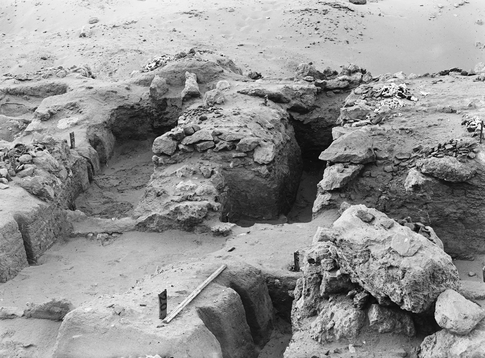 Wadi Cemetery (Reisner; north of W. Cem): Site: Giza; View: GW 20, GW 22, GW 24, GW 26, GW 27, GW 28, GW 29, GW 30