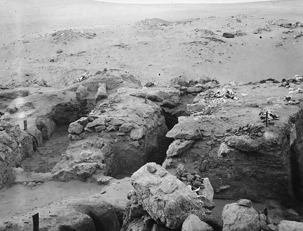 Wadi Cemetery (Reisner; north of W. Cem): Site: Giza; View: GW 20, GW 22, GW 23, GW 24, GW 26, GW 27, GW 28, GW 29