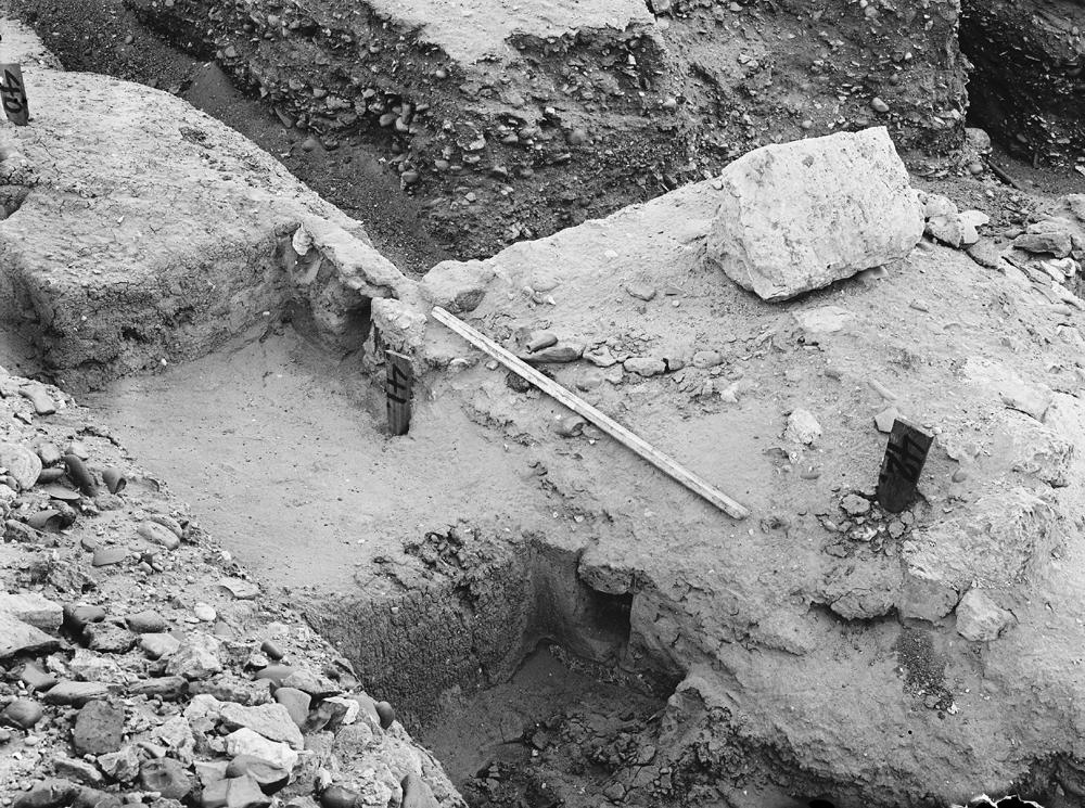 Wadi Cemetery (Reisner; north of W. Cem): Site: Giza; View: GW 40, GW 41, GW 42
