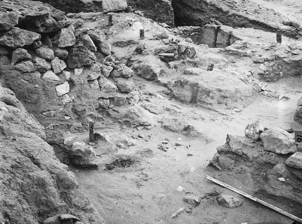 Wadi Cemetery (Reisner; north of W. Cem): Site: Giza; View: GW 34, GW 42, GW 43, GW 44, GW 45, GW 46, GW 59, GW 60