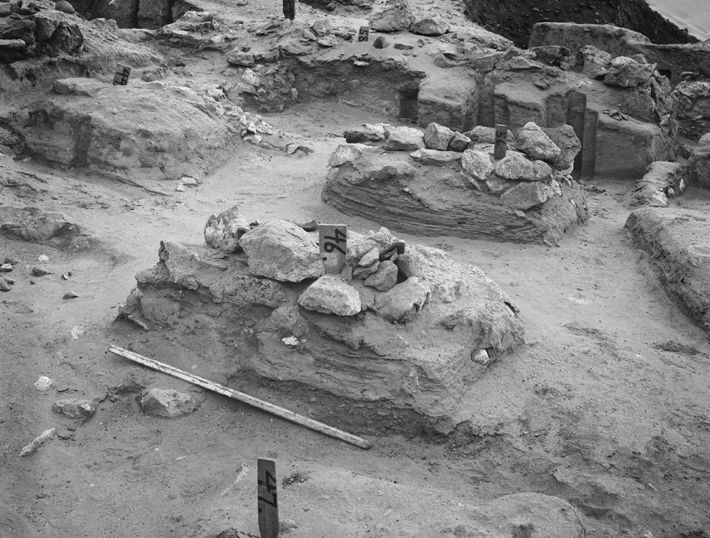 Wadi Cemetery (Reisner; north of W. Cem): Site: Giza; View: GW 44, GW 46, GW 47, GW 56, GW 57, GW 58, GW 59