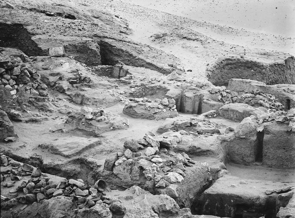 Wadi Cemetery (Reisner; north of W. Cem): Site: Giza; View: GW 44, GW 45, GW 46, GW 47, GW 48, GW 49, GW 50, GW 51, GW 55, GW 56, GW 57, GW 58, GW 59, GW 60