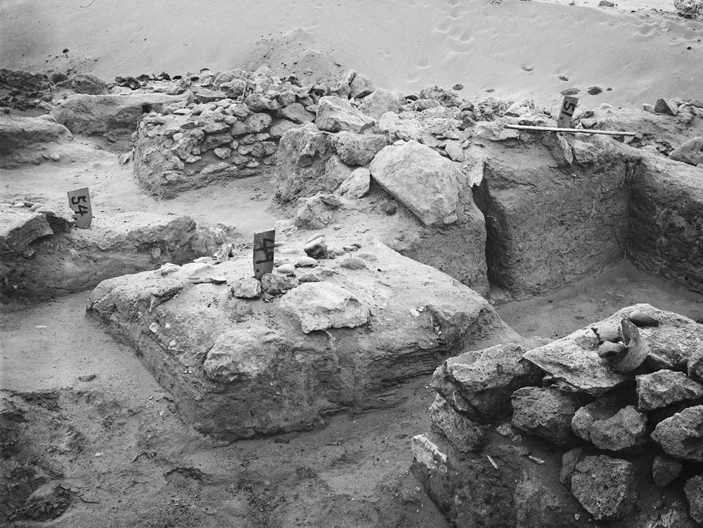 Wadi Cemetery (Reisner; north of W. Cem): Site: Giza; View: GW 48, GW 49, GW 51, GW 53, GW 54