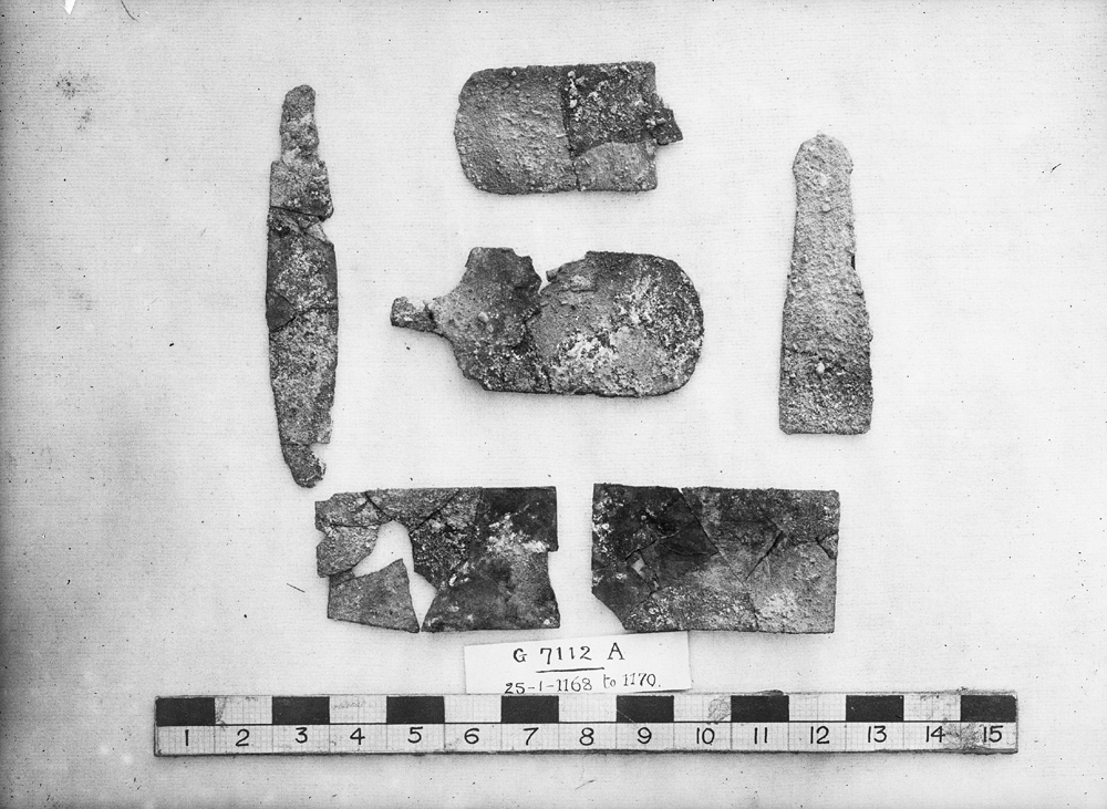 Object(s) photograph: Site: Giza; view: G 7112