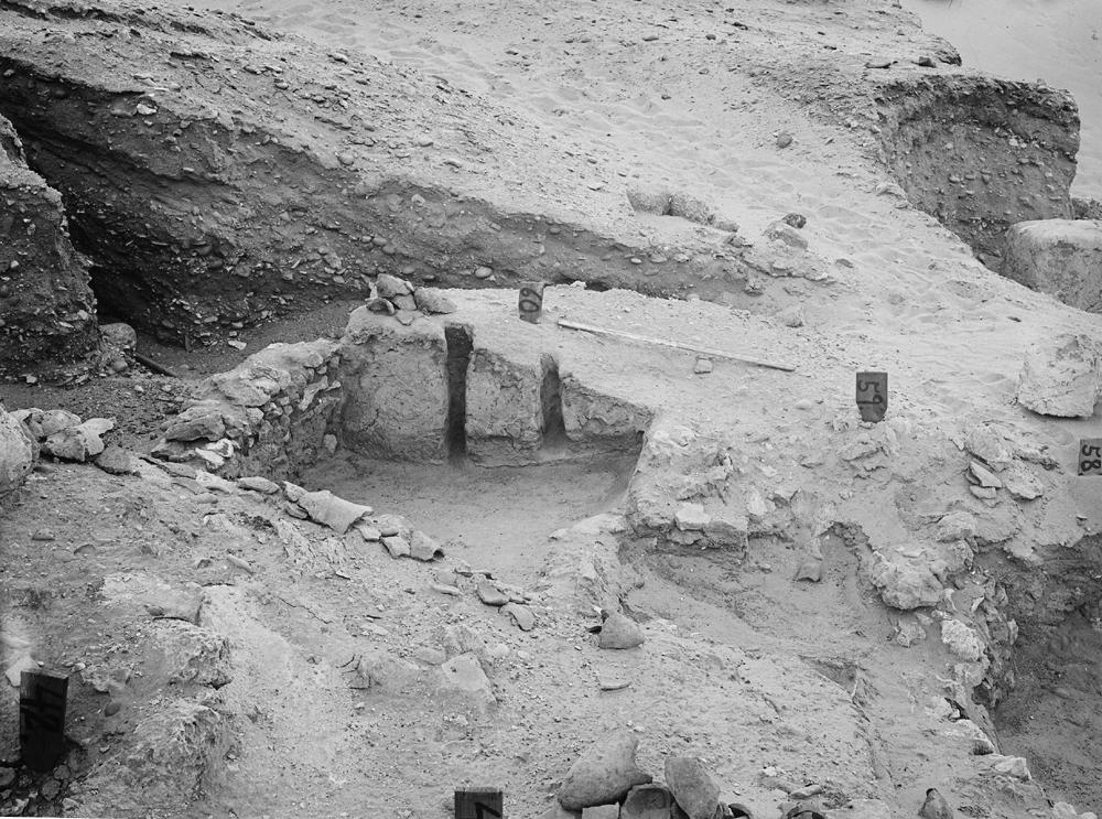 Wadi Cemetery (Reisner; north of W. Cem): Site: Giza; View: GW 42, GW 43, GW 58, GW 59, GW 60