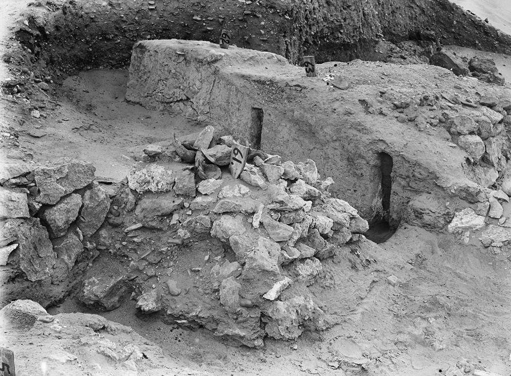 Wadi Cemetery (Reisner; north of W. Cem): Site: Giza; View: GW 55, GW 57, GW 61, GW 62, GW 63