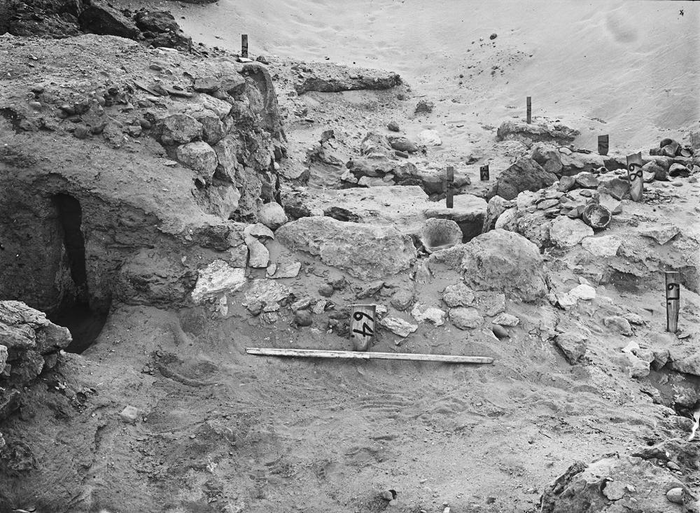 Wadi Cemetery (Reisner; north of W. Cem): Site: Giza; View: GW 63, GW 64, GW 67, GW 68, GW 72, GW 73, GW 74, GW 75, GW 77