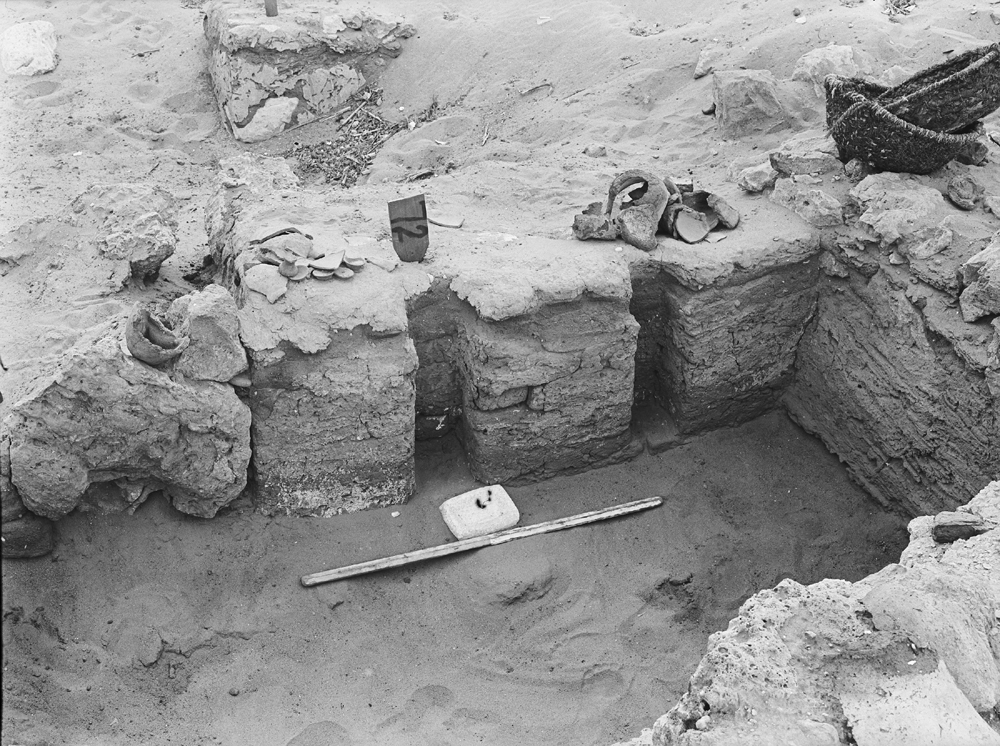 Wadi Cemetery (Reisner; north of W. Cem): Site: Giza; View: GW 72, GW 73, GW 77