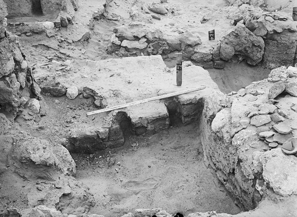 Wadi Cemetery (Reisner; north of W. Cem): Site: Giza; View: GW 68, GW 72, GW 73, GW 74, GW 75