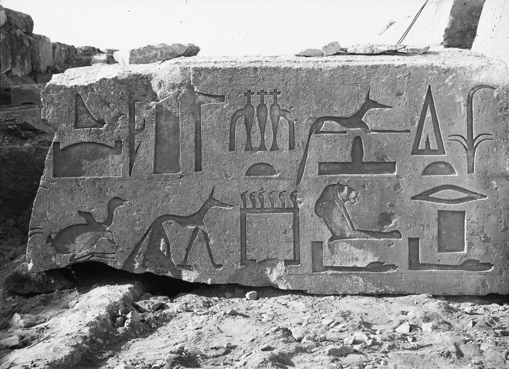 Object(s) photograph: Site: Giza; view: G 7430-7440