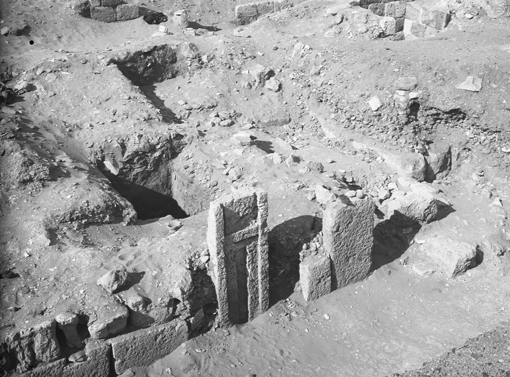 Western Cemetery: Site: Giza; View: G 2022