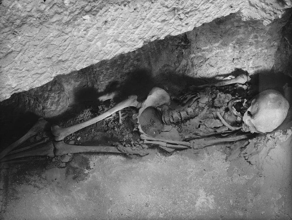Western Cemetery: Site: Giza; View: G 1037-Annex