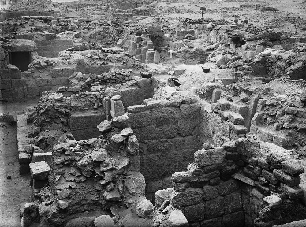 Western Cemetery: Site: Giza; View: G 1026, G 1024, G 1027