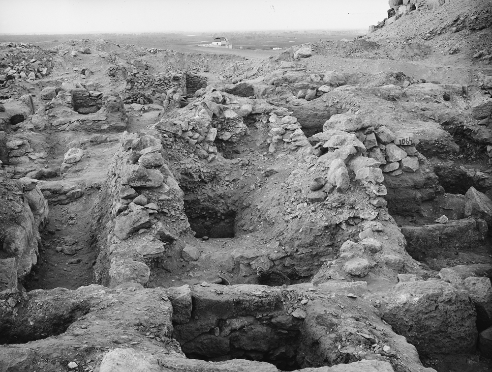 Western Cemetery: Site: Giza; View: G 1065