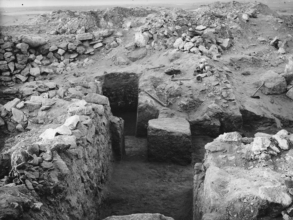 Western Cemetery: Site: Giza; View: G 1123