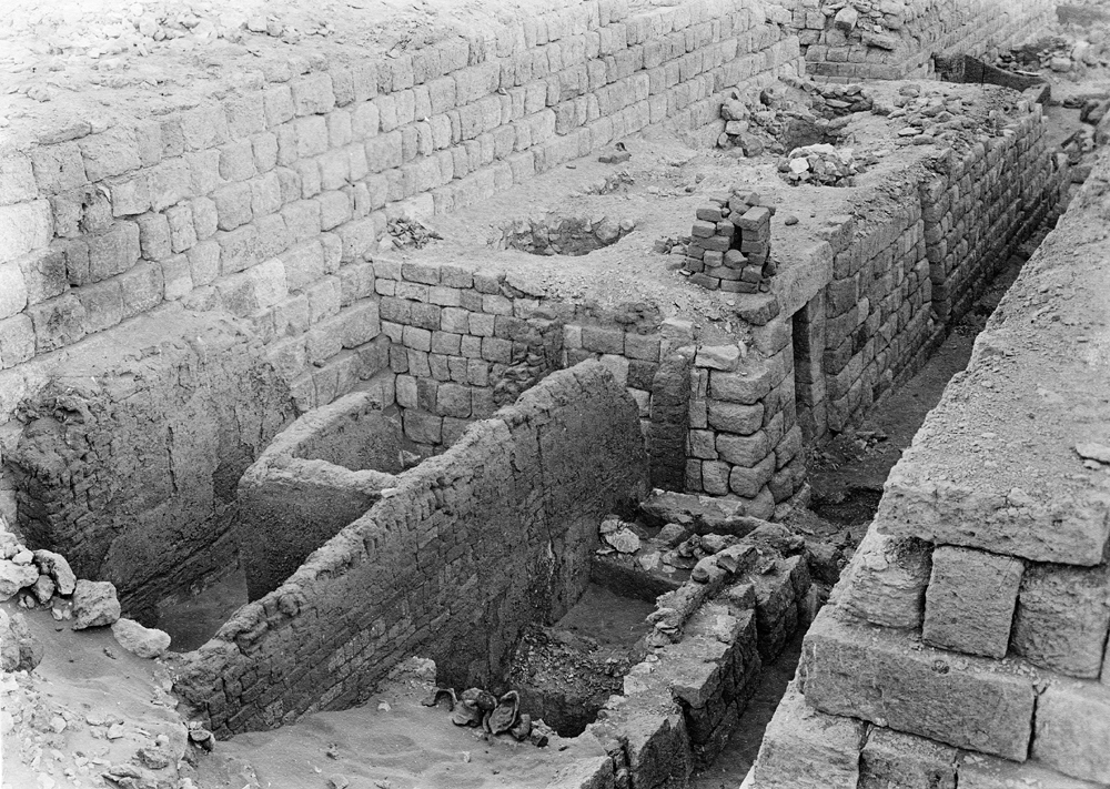 Western Cemetery: Site: Giza; View: G 1207, G 1206, G 1210