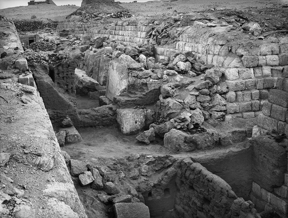 Western Cemetery: Site: Giza; View: G 1225, G 1235, G 1225-Annex