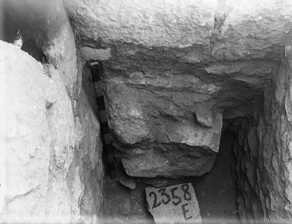 Western Cemetery: Site: Giza; View: G 5542