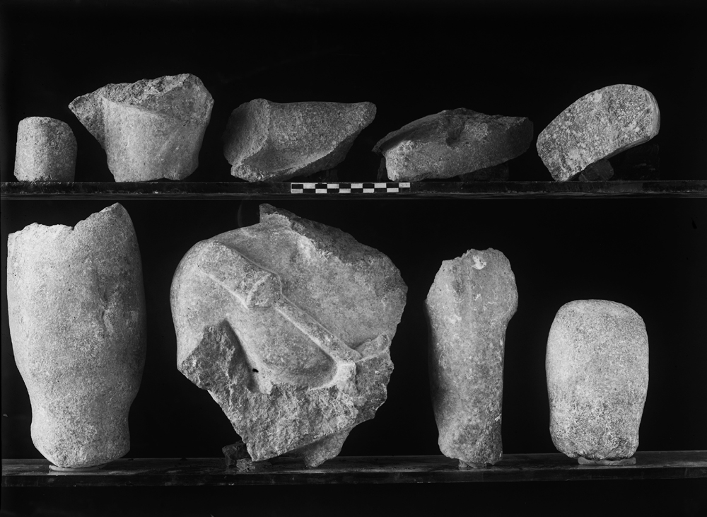 Object(s) photograph: Site: Giza; view: G 2200 = G 5080, G 5562, G 2342 = G 5520