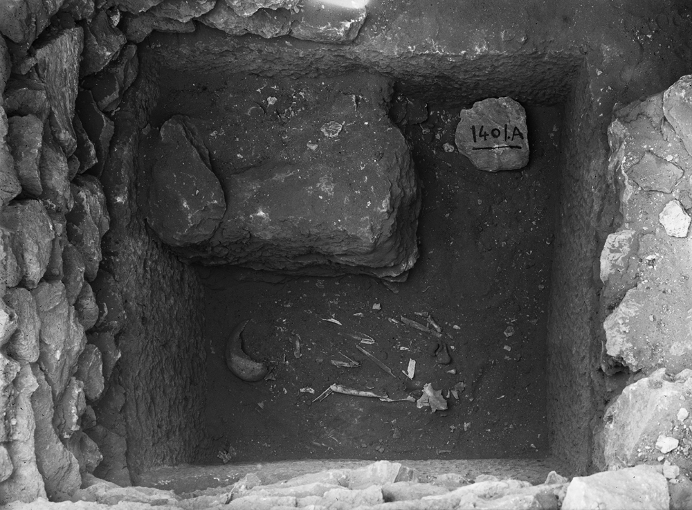 Western Cemetery: Site: Giza; View: G 1401