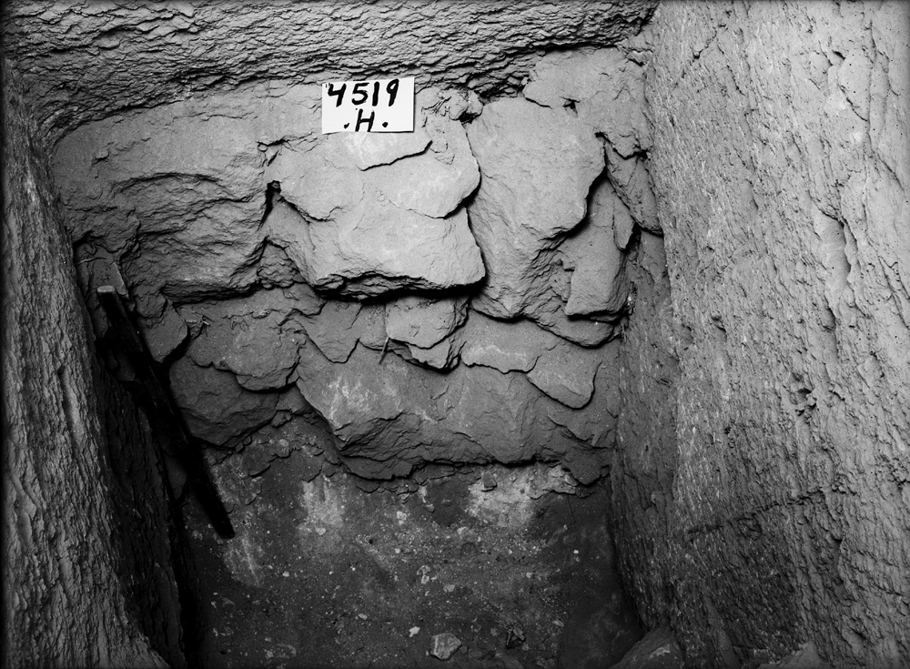 Western Cemetery: Site: Giza; View: G 4519