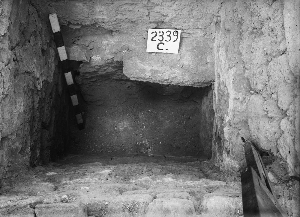Western Cemetery: Site: Giza; View: G 2339