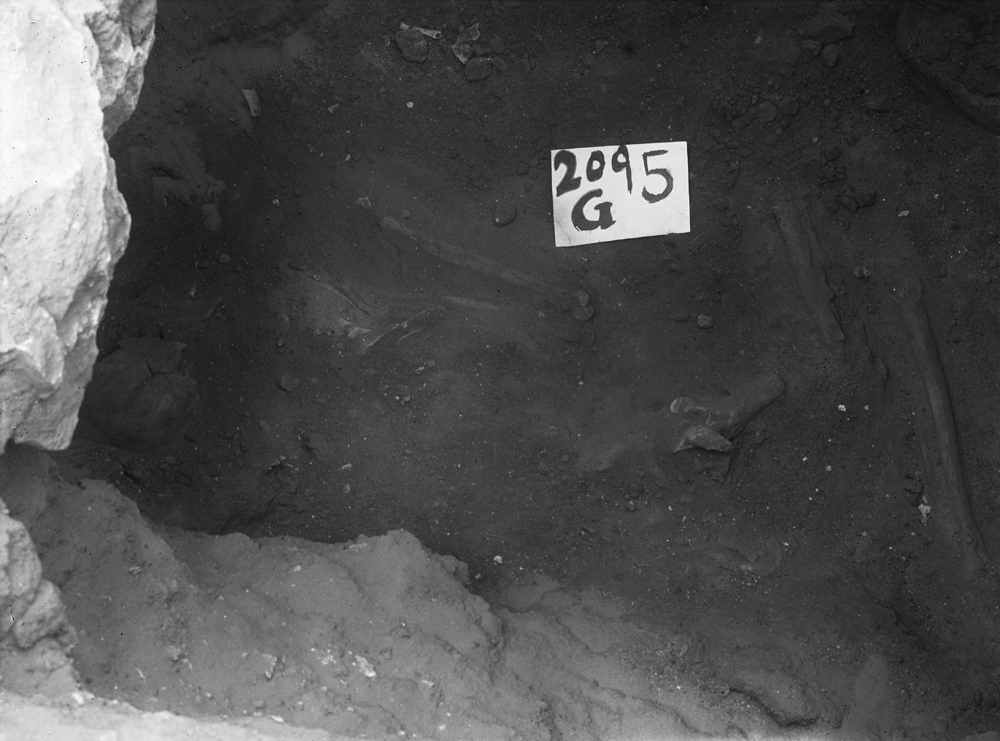 Western Cemetery: Site: Giza; View: G 2095