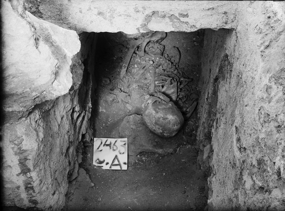 Western Cemetery: Site: Giza; View: G 2463a